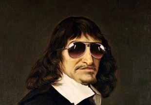descartes looking fly