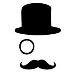Top hat, monocle and sweet stash